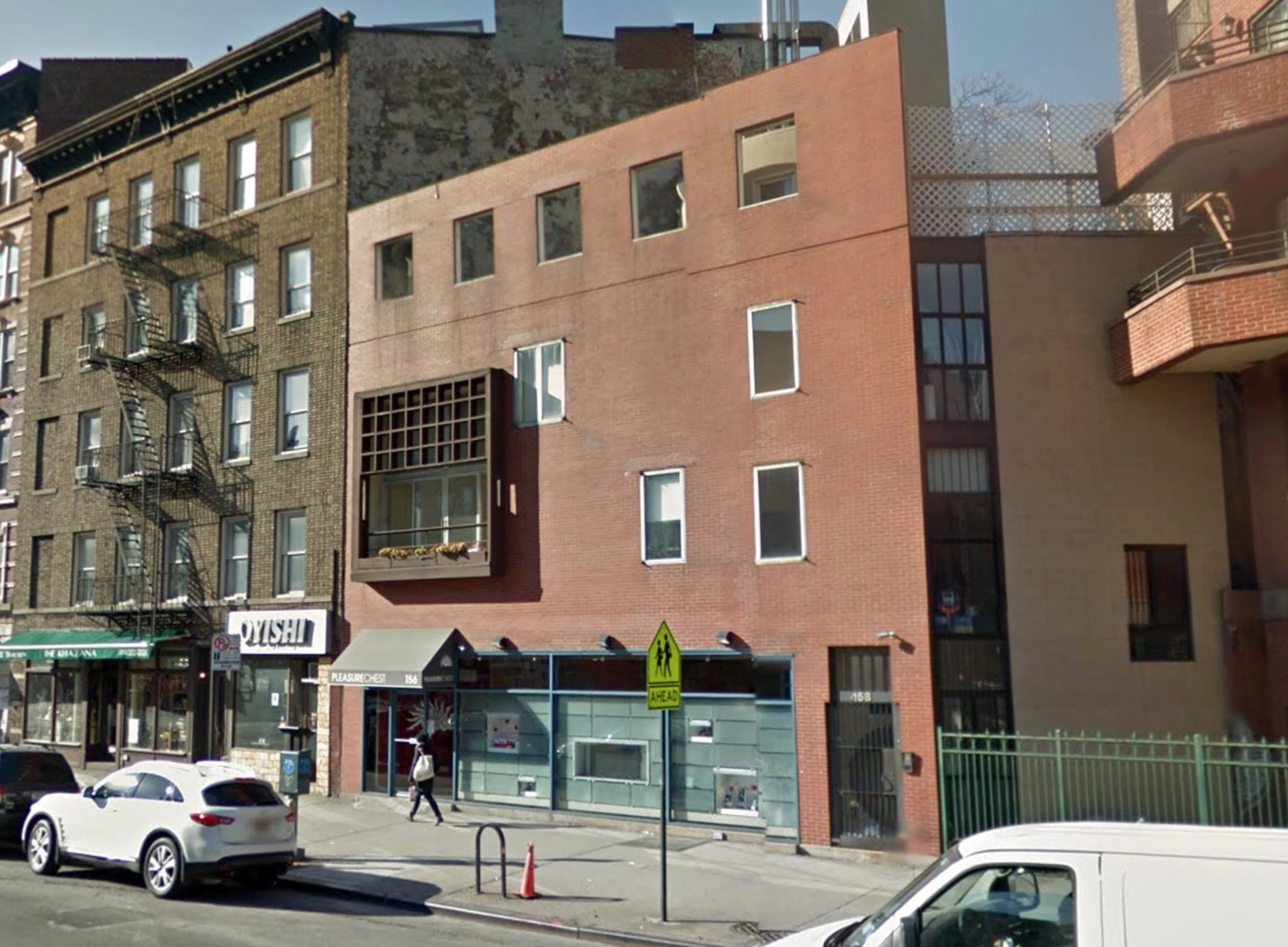 156 Seventh Avenue South in January of 2013. Via Google Maps.