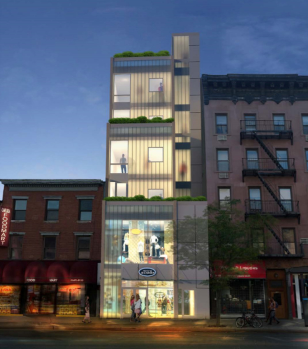 Revealed: Six-Story, Five-Unit Mixed-Use Building Planned