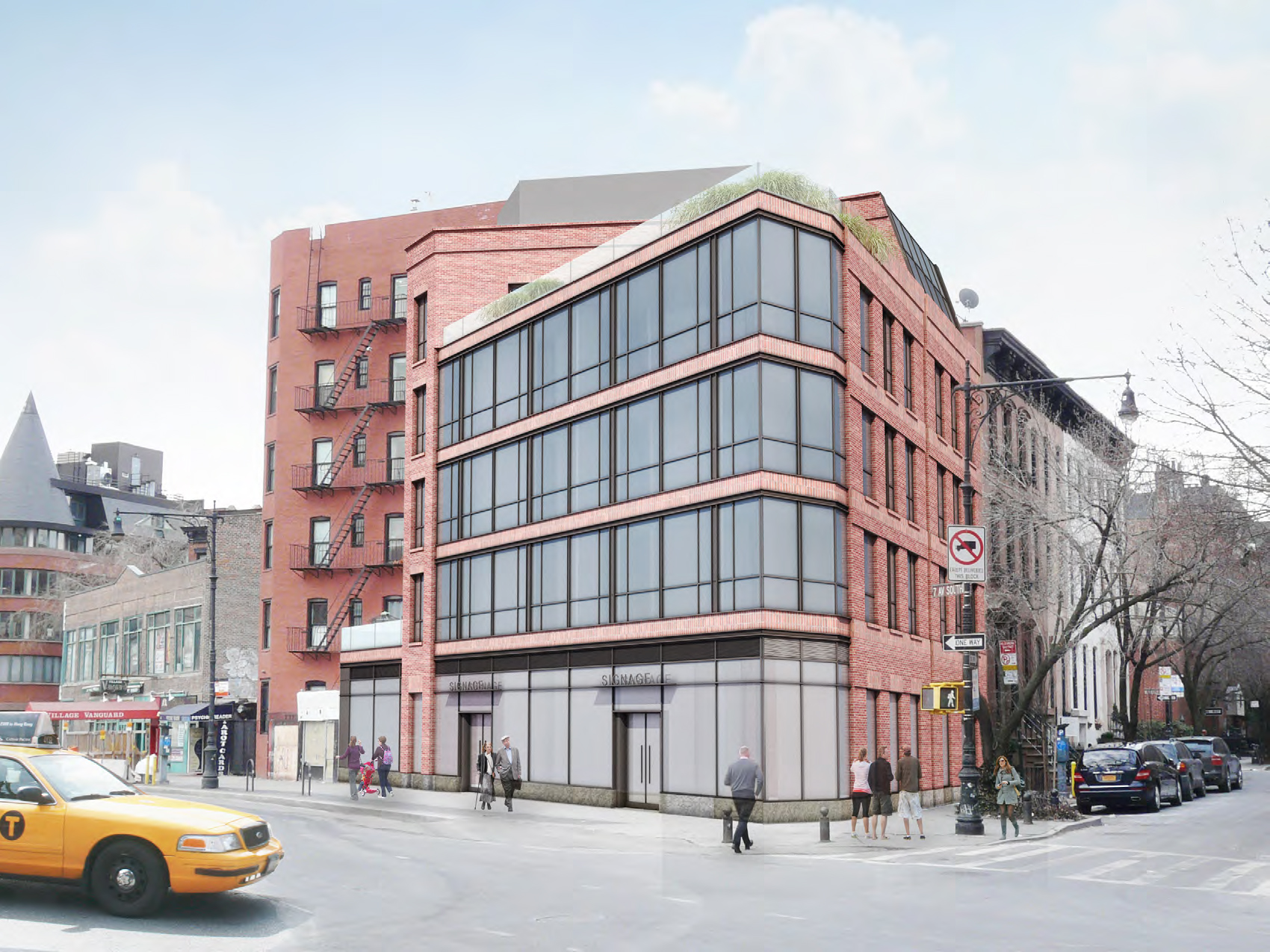 Approved design for 192 Seventh Avenue South