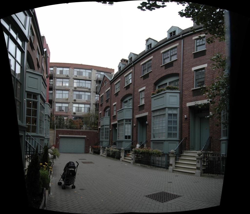 The Greenwich Mews at 687 Greenwich Street. Photo by PropertyShark.