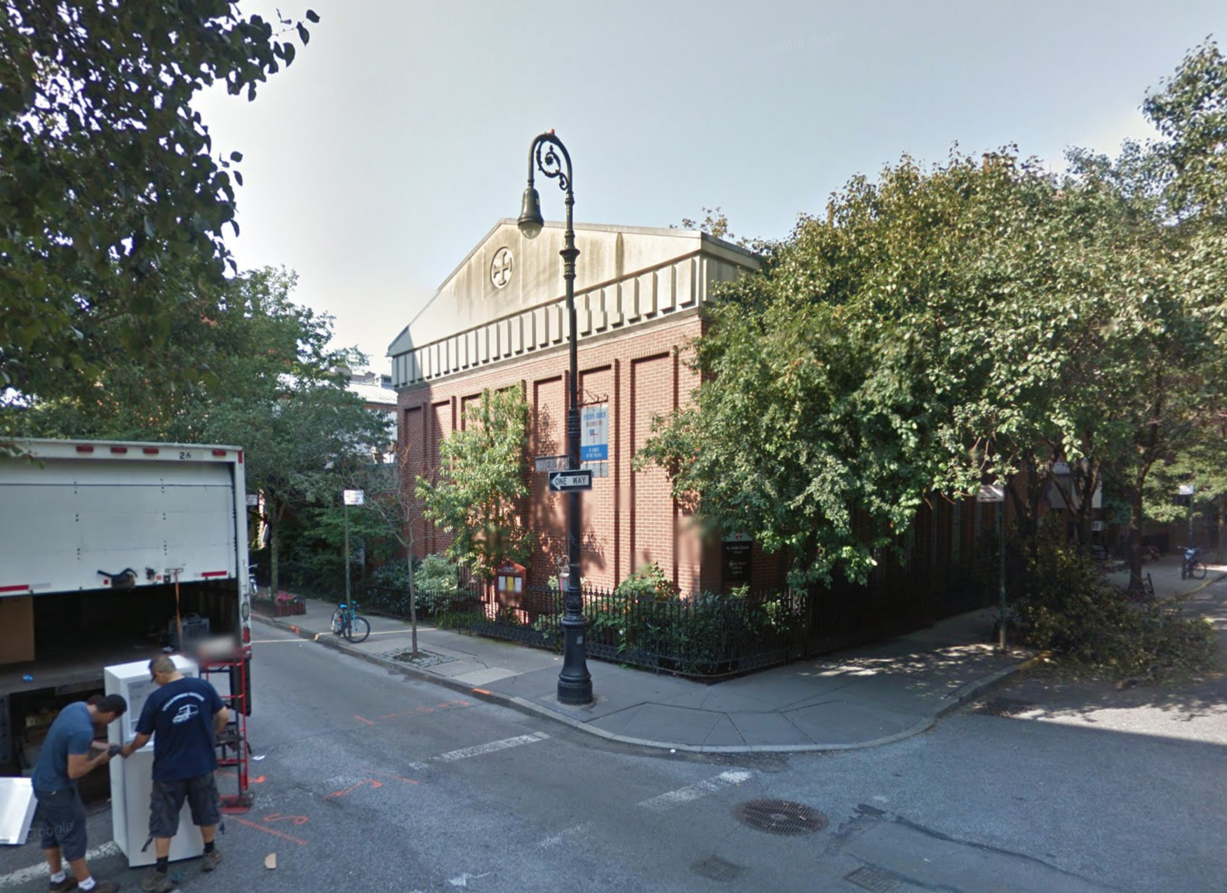234 Waverly Place in August of 2014. Via Google Maps.