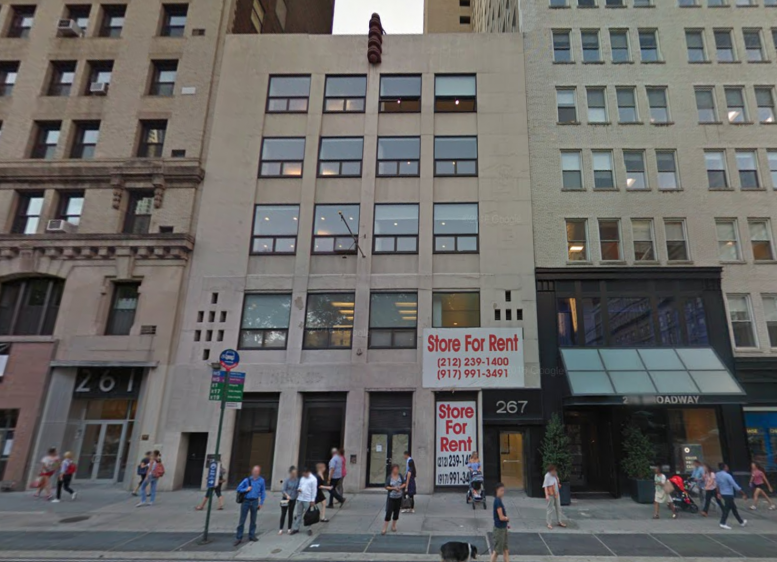 265-267 Broadway. image via Google Maps