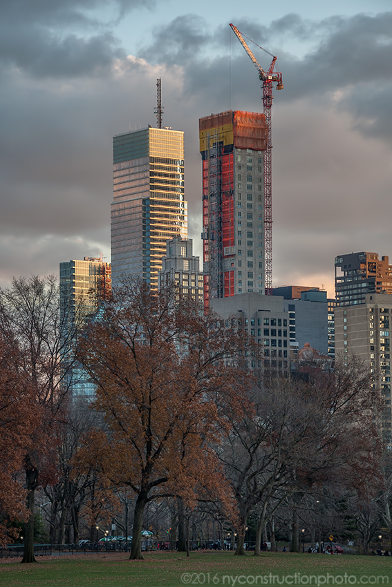 520 Park Avenue seen with the Bloomberg Tower. Photo by ILNY via YIMBY Forums