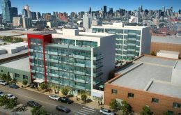 37-21 32nd Street. Rendering by Tan Architect PC. Photos by the author.