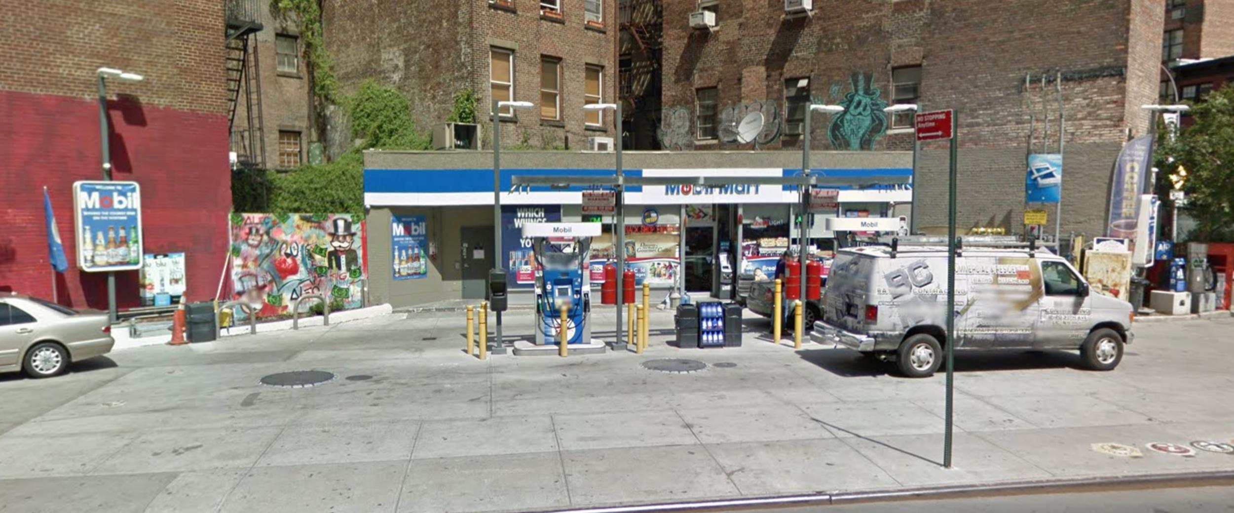 51-63 Eighth Avenue in June of 2016. Via Google Maps.