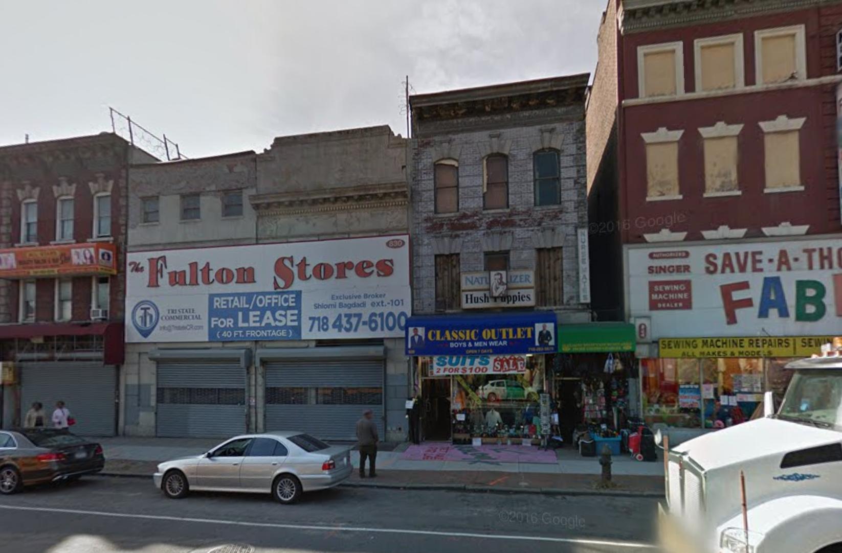 830 Flatbush Avenue in November 2016. image via Google Maps