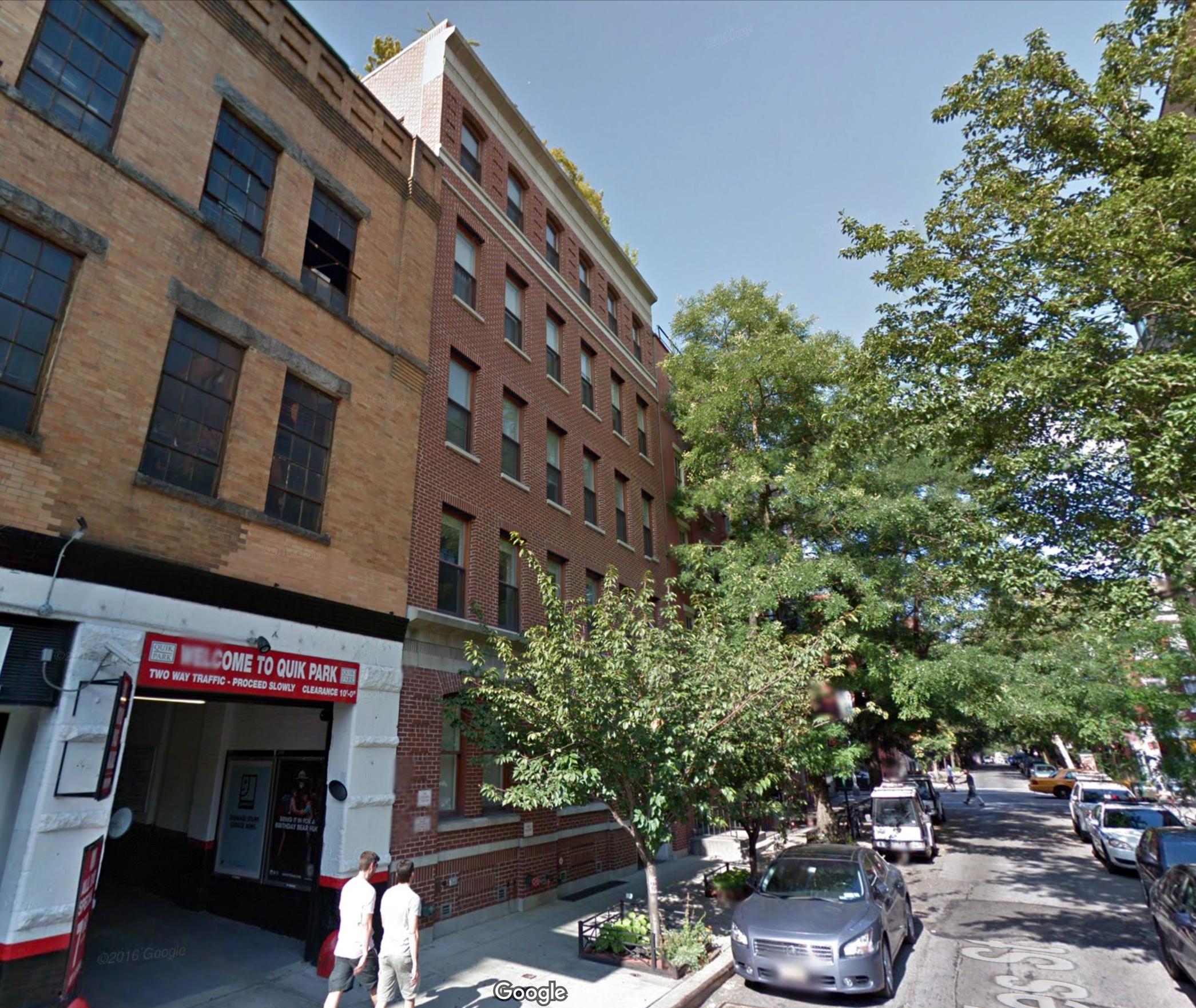 93-95 Charles Street in August of 2014. Via Google Maps.
