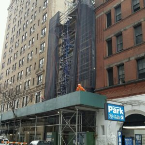 Construction at 207 West 75th Street. Via Jeffrey Cole