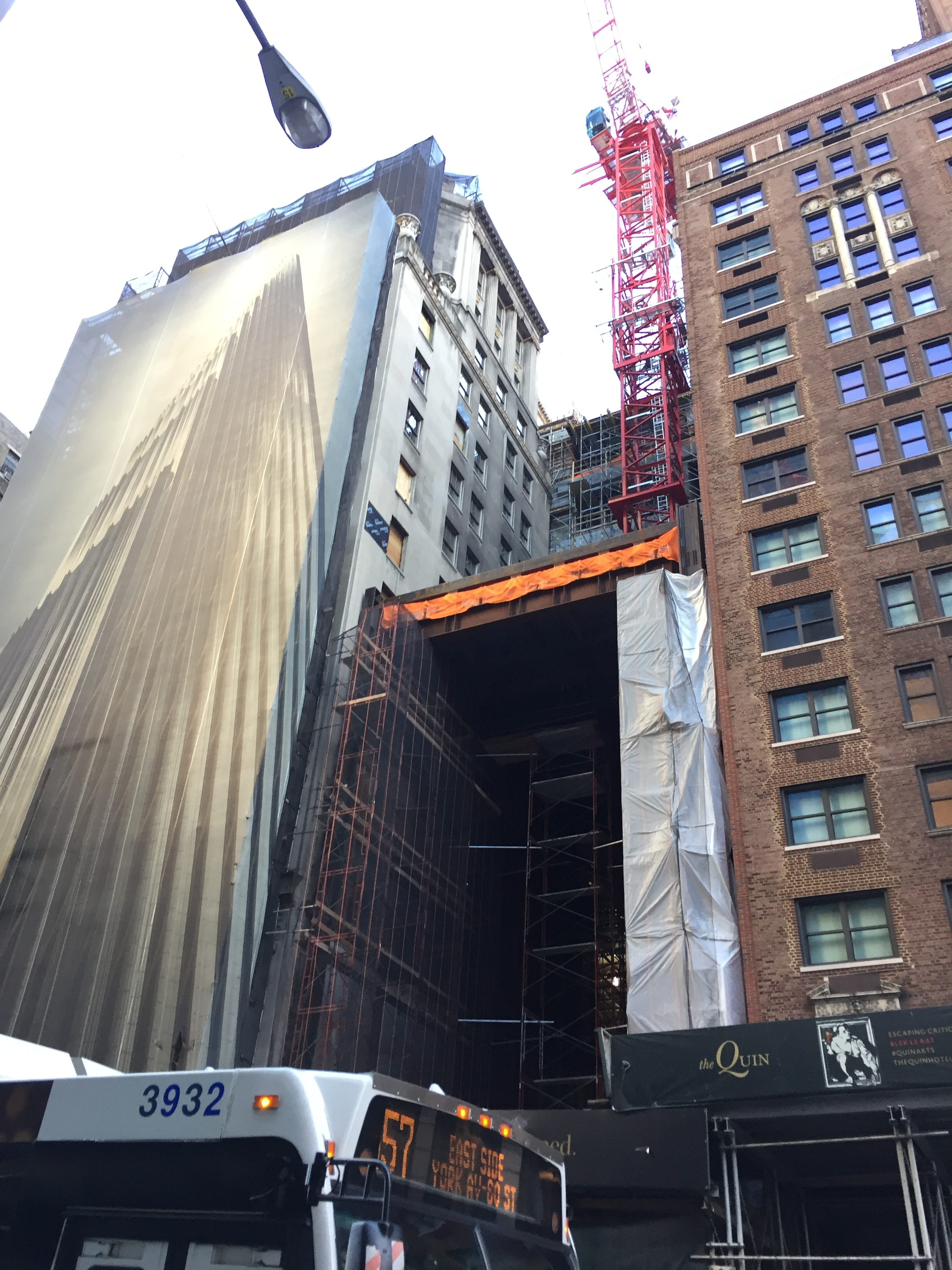 111 West 57th Street. Photo by robertwalpole via YIMBY Forums