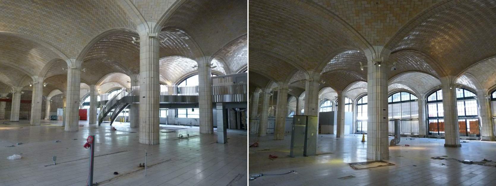 The space under the Queensboro Bridge following the closing of the Food Emporium