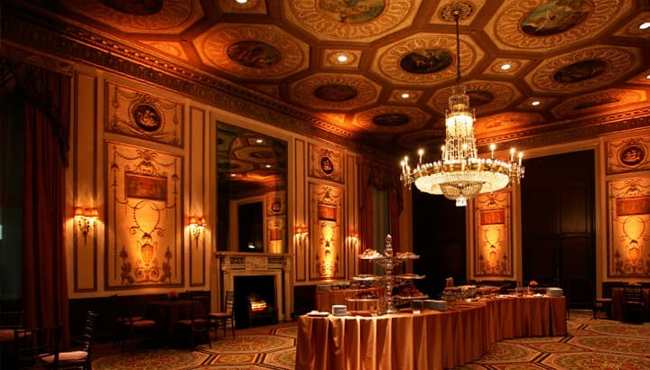The Basildon Room at the Waldorf Astoria New York hotel. Credit: Hilton Worldwide