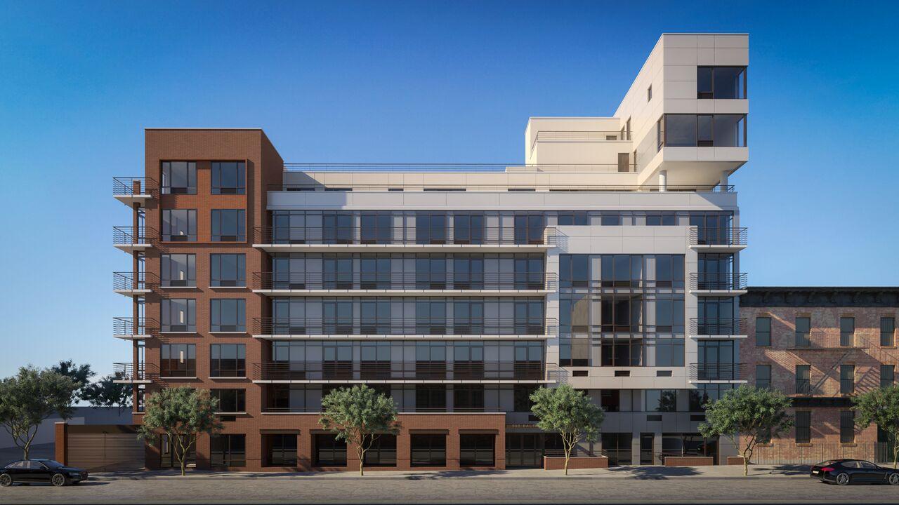 Rendering of 595 Baltic Street. Via Adam America Real Estate