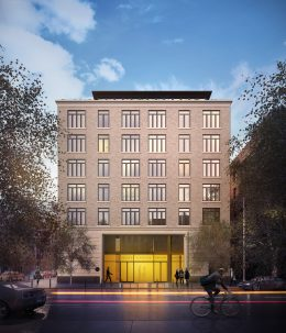 10 Lenox Avenue. Rendering by Issac and Stern Architects.