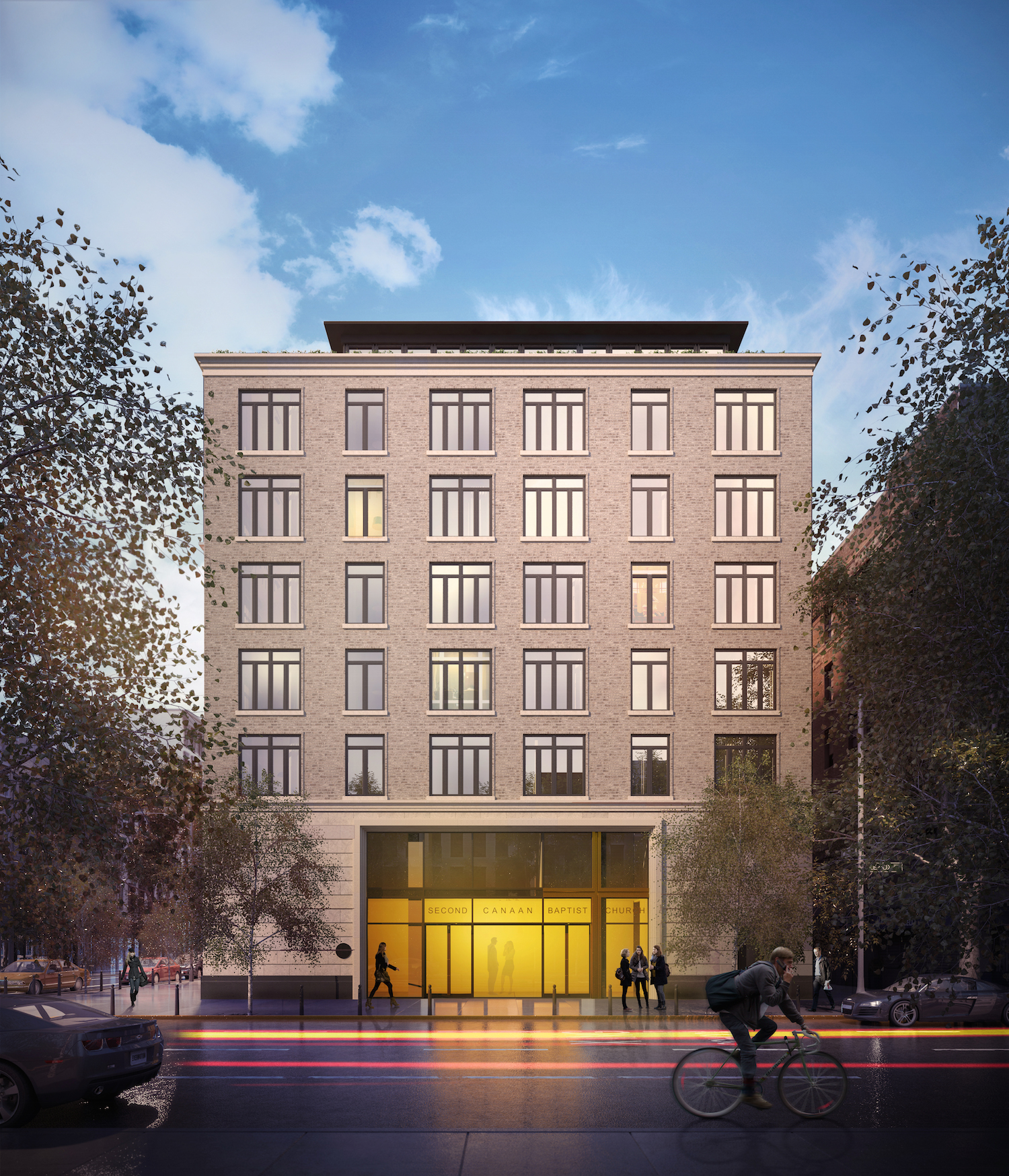 Forest Hill Village Apartments Ls: Revealed: 10 Lenox Avenue, Apartments Atop Second Canaan