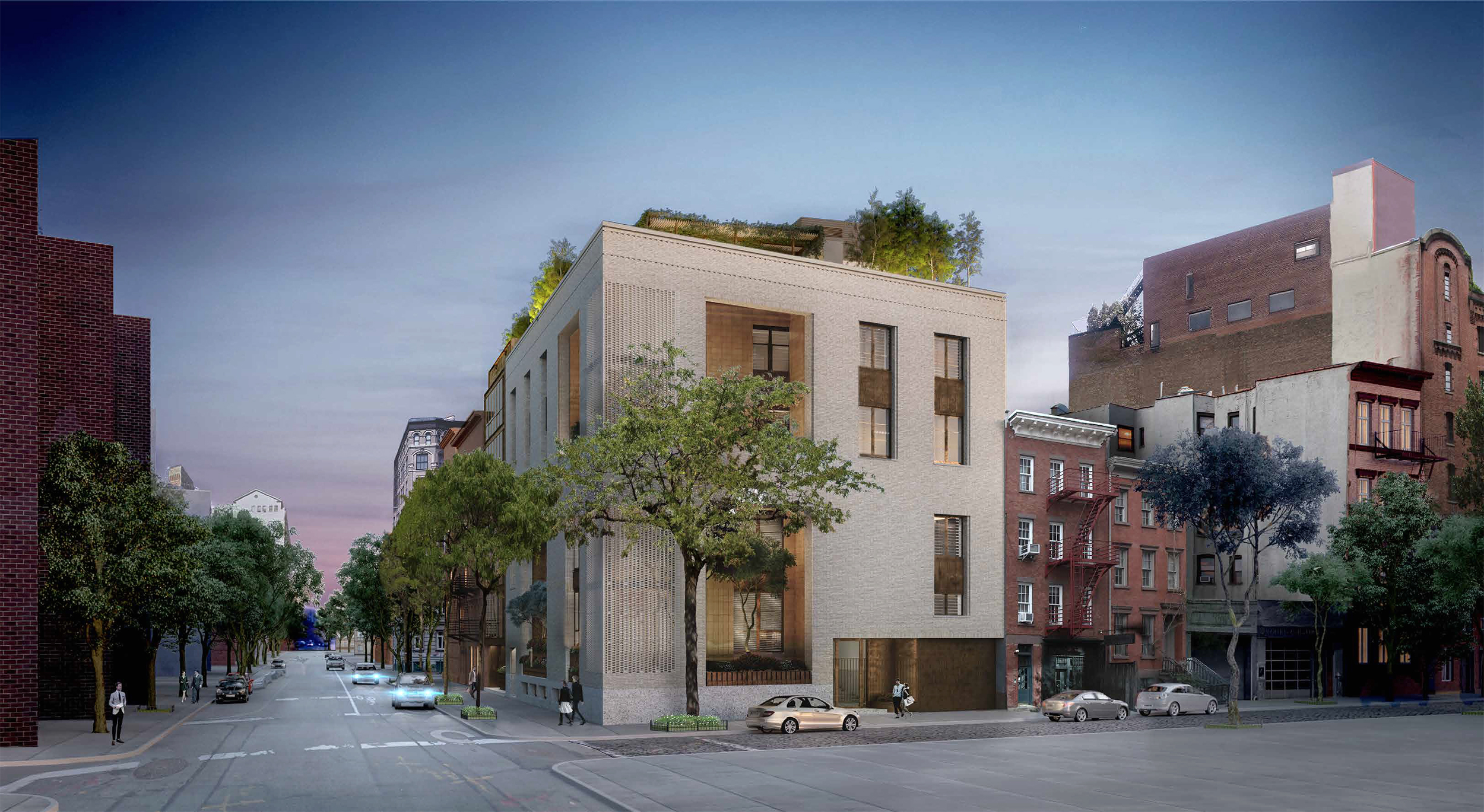Proposal for 145 Perry Street, a.k.a. 703-711 Washington Street