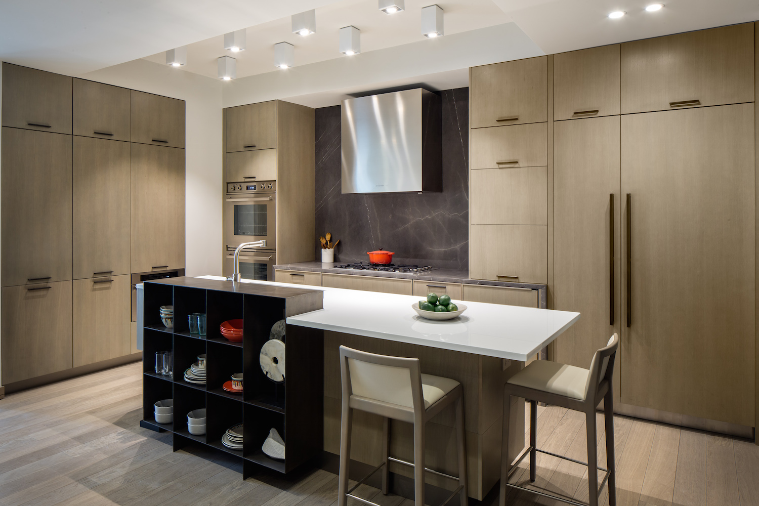 A kitchen at 88 Lexington Avenue. photo via HFZ Capital