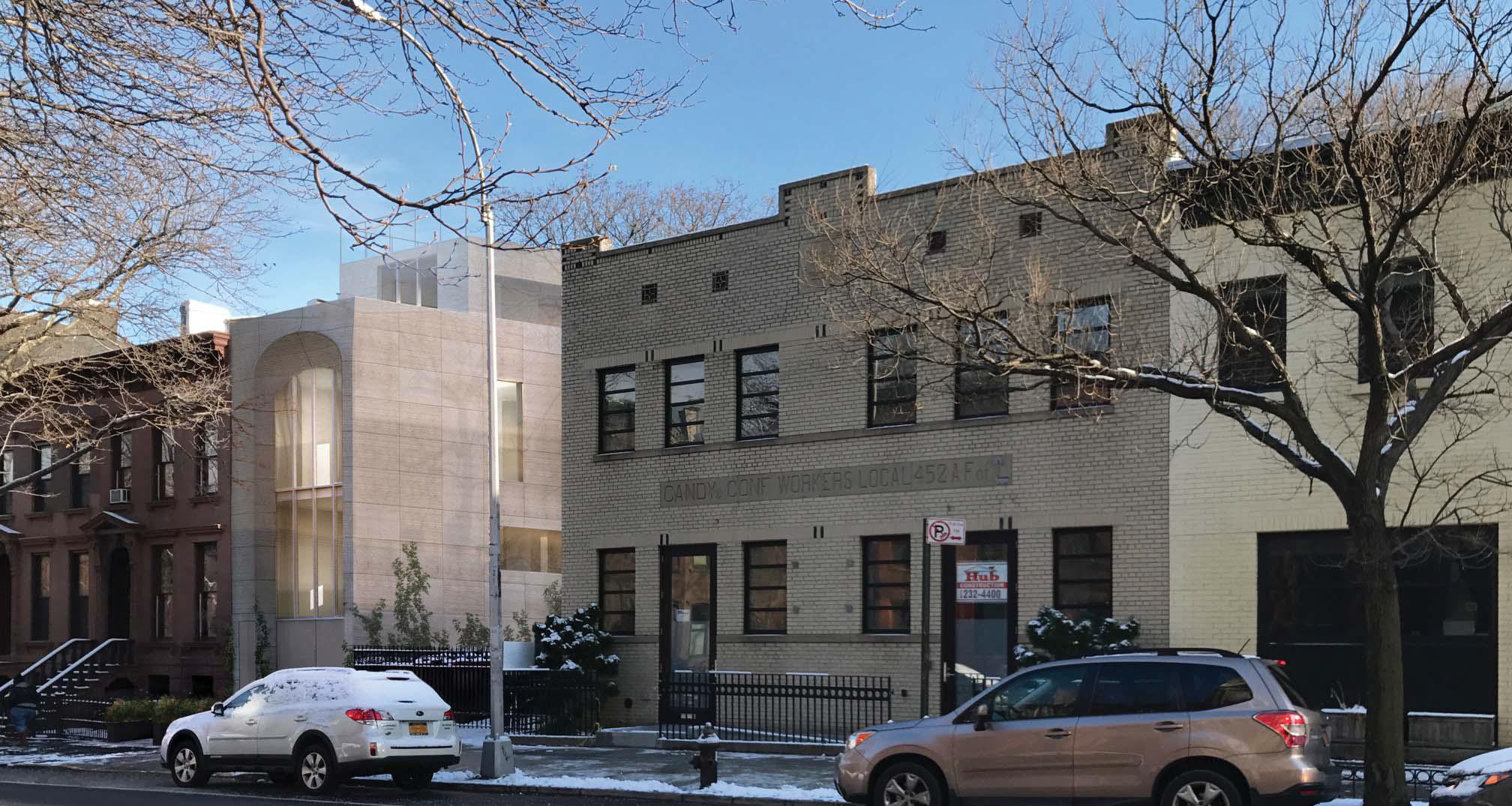 Proposal for 311 Vanderbilt Avenue.