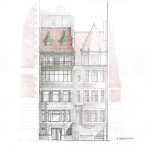 Proposal for 36 Riverside Drive.