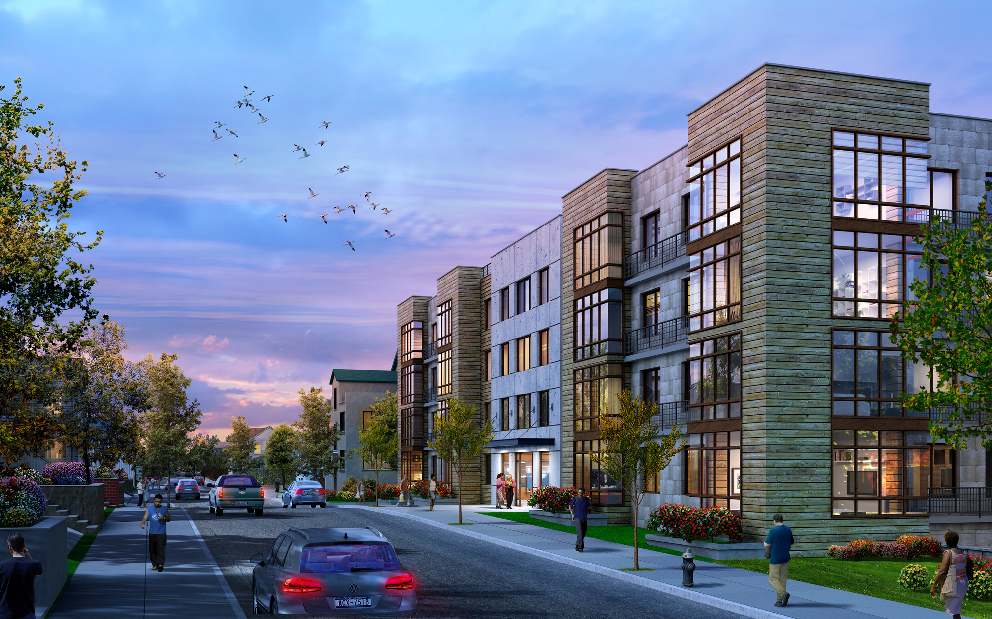 Multi Building 179 Unit Residential Project Proposed
