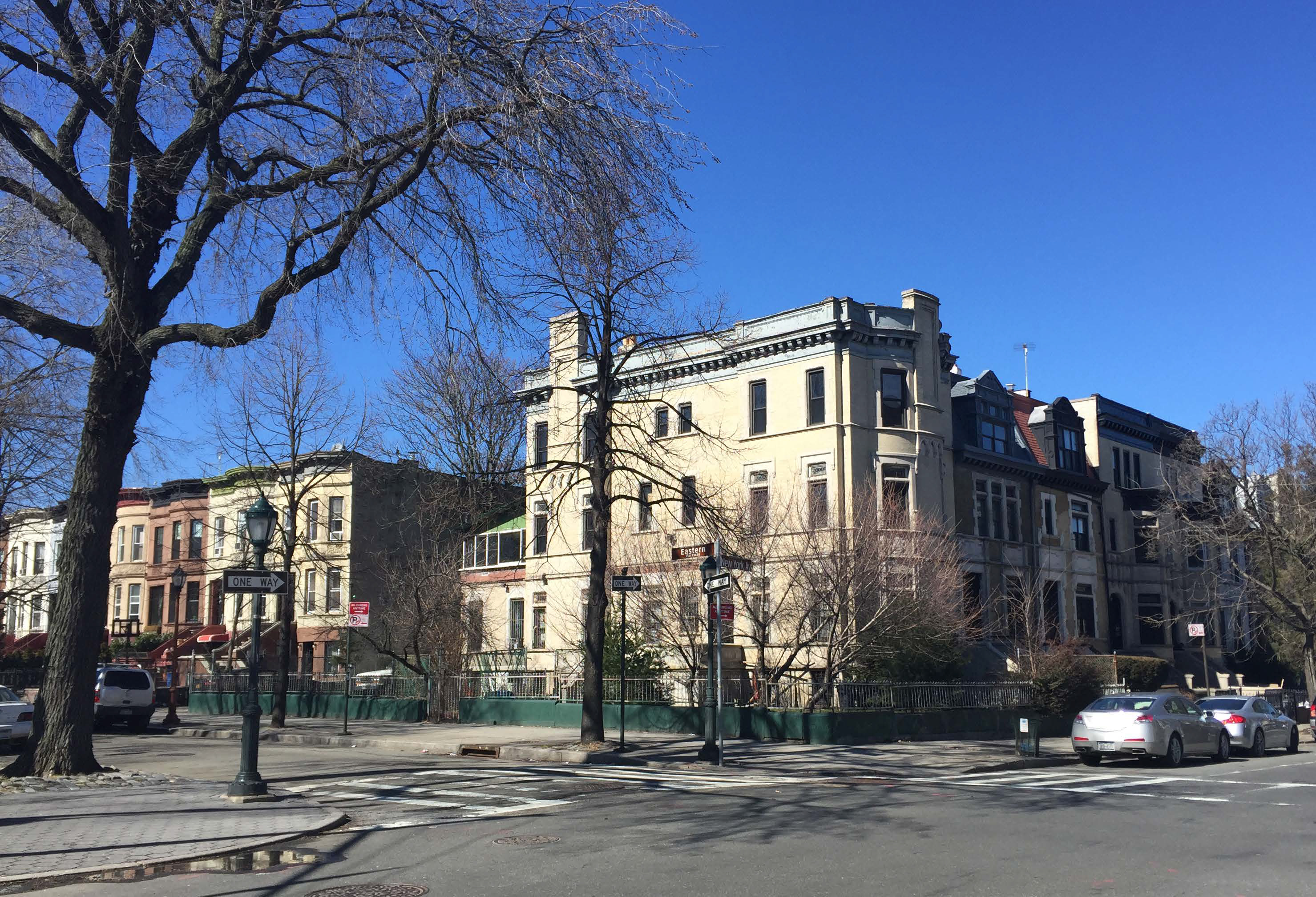 Existing conditions at 615 Eastern Parkway