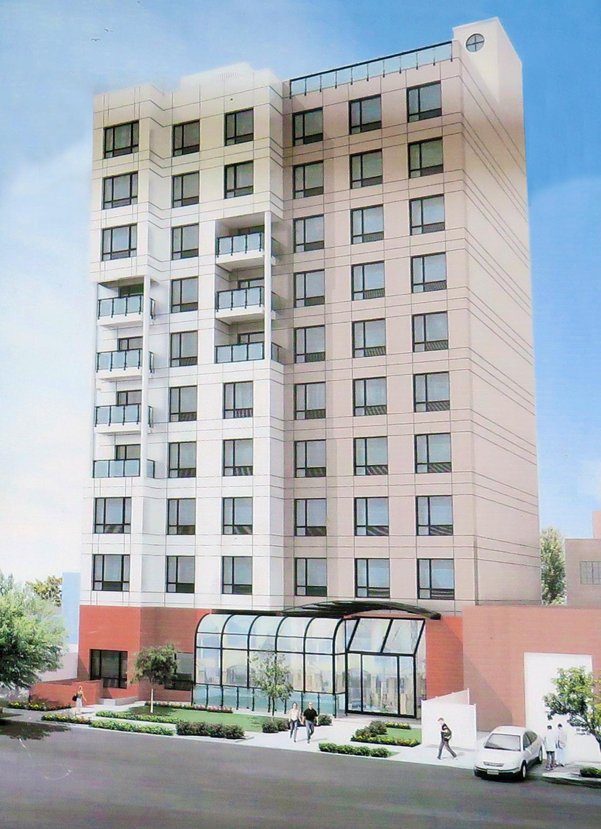 37-11 23rd Street on-site rendering.