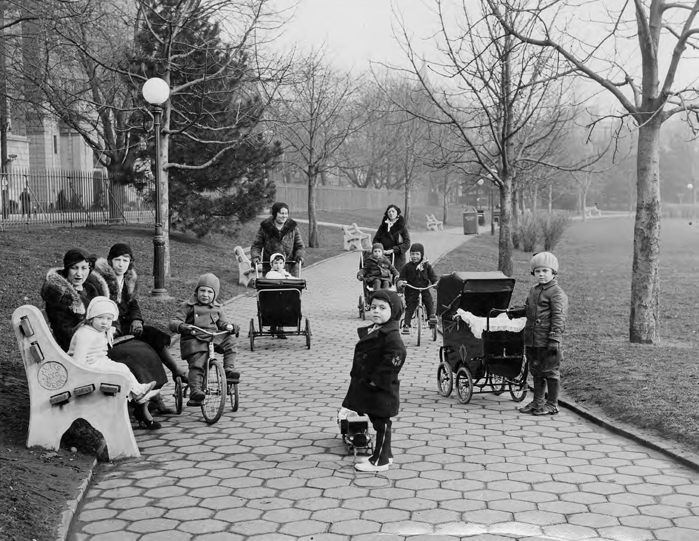 Rufus King Park in 1933.