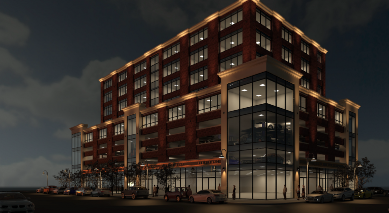 74-04 Northern Boulevard, rendering via DCP