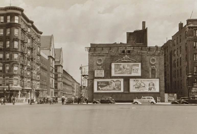 The Lenox Theatre in 1941. image via NYPL Digital Collection/Harlem + Bespoke
