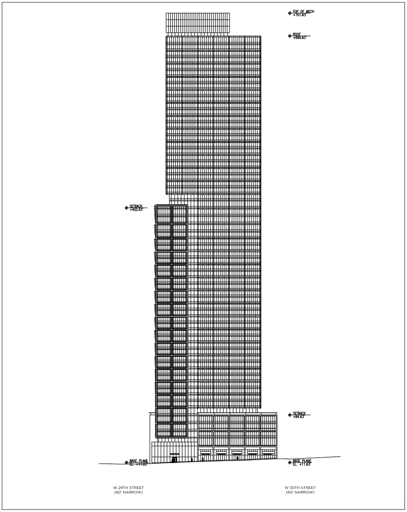 Site B of Block 675, Plans by FXFowle