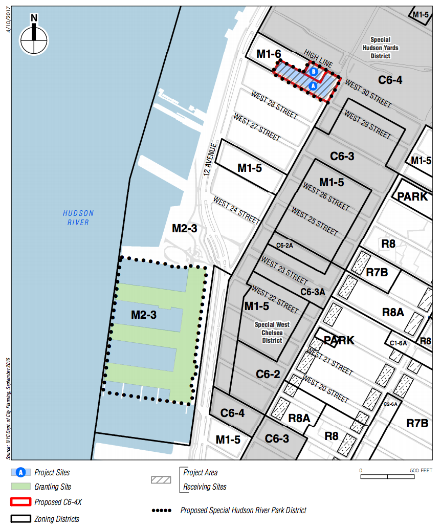 Block 675 and Chelsea Piers