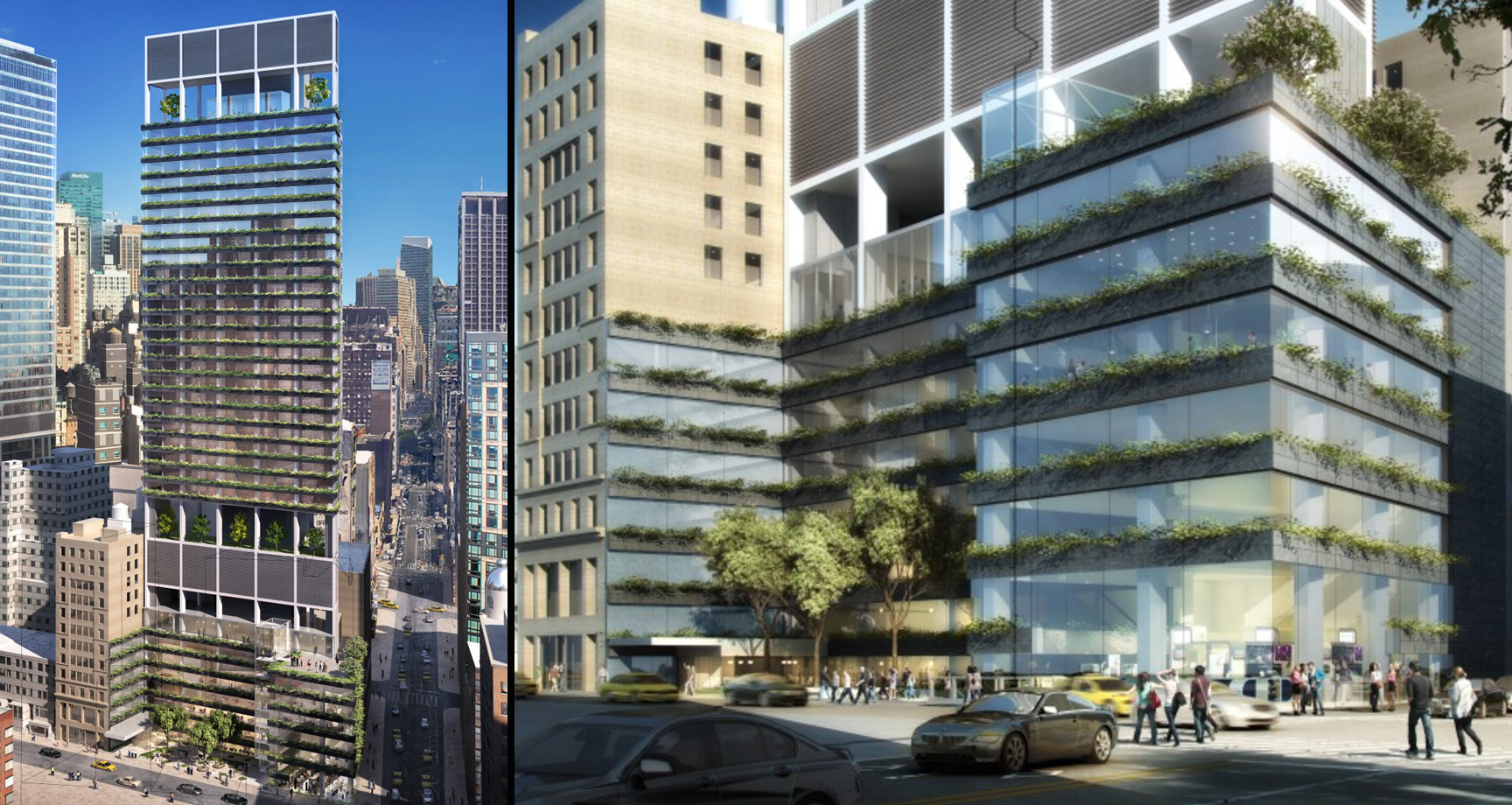 1185 Broadway, rendering via Rafael Vinoly