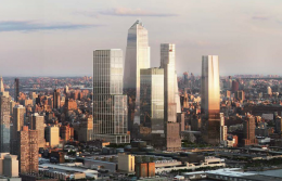 50 Hudson Yards Skyline