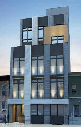 846 Monroe Street, image by J Goldman Design