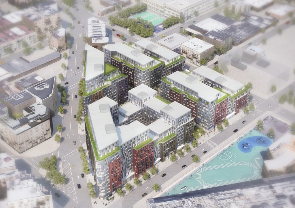 Pfizer Rezoning Plans, image by Magnusson Architecture & Planning