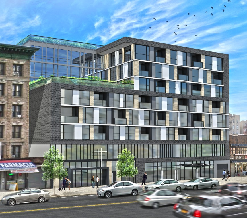 Greenwood Point Apartments: Permits Filed For 210 West 145th Street, Harlem