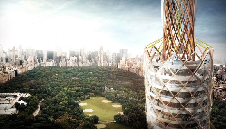 Design Concept Revealed For Another Central Park Tower