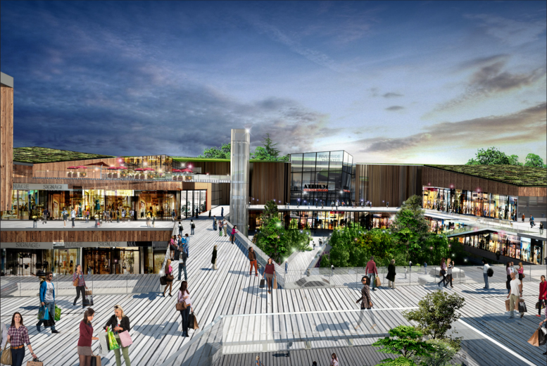 Reveal For Riverside Galleria Another Major Retail Center Coming To Staten Island