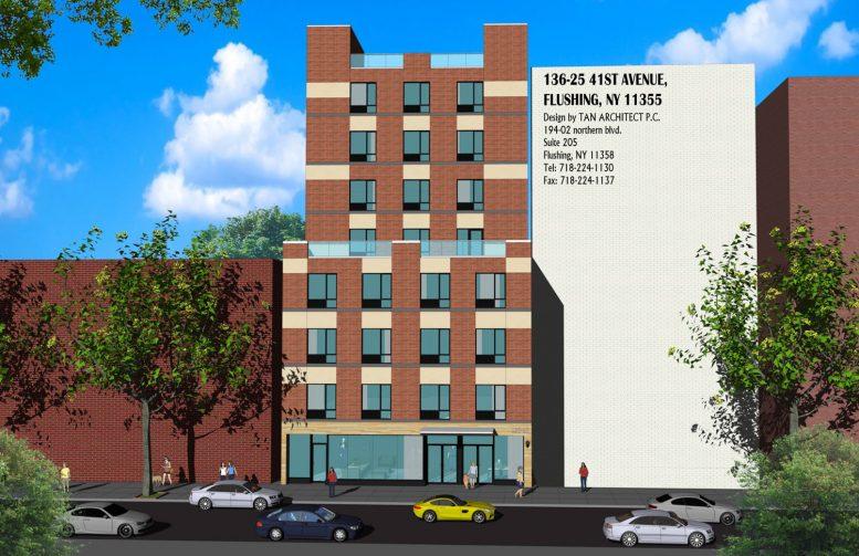136-23 41st Avenue Rendering