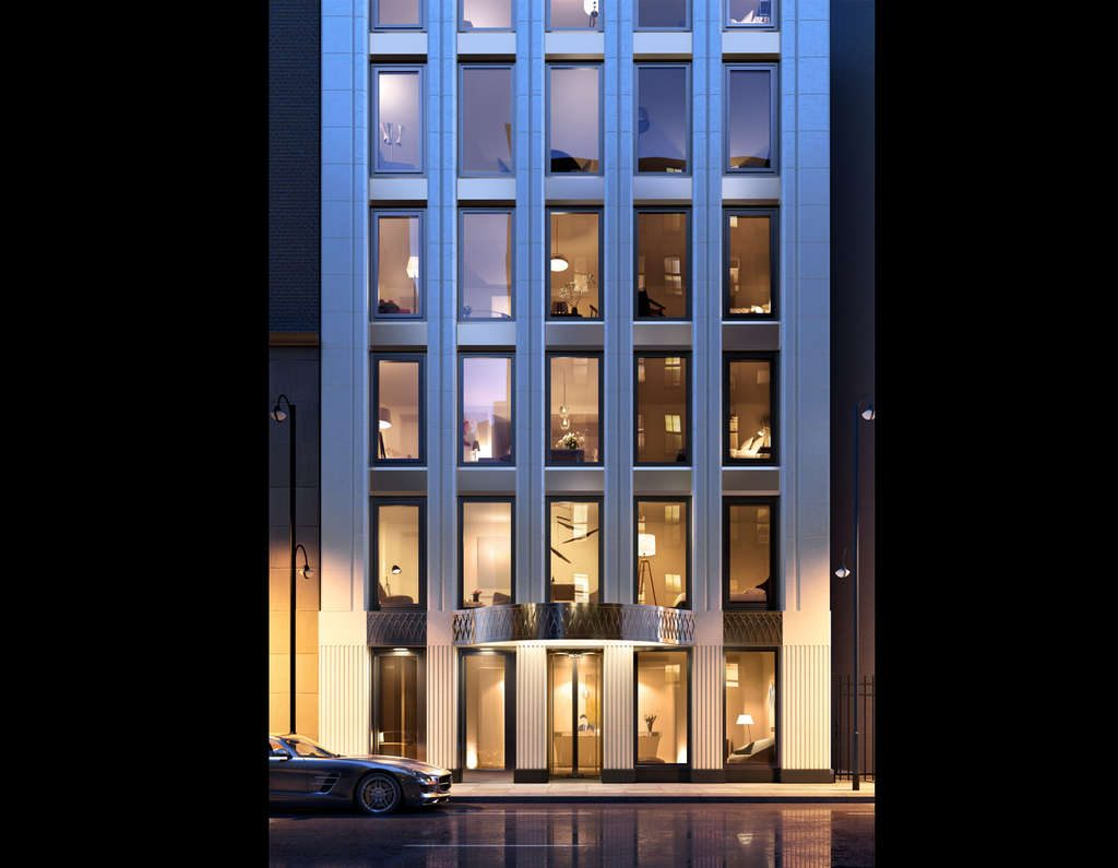 30 East 31st Street, rendering by Morris Adjmi Architects