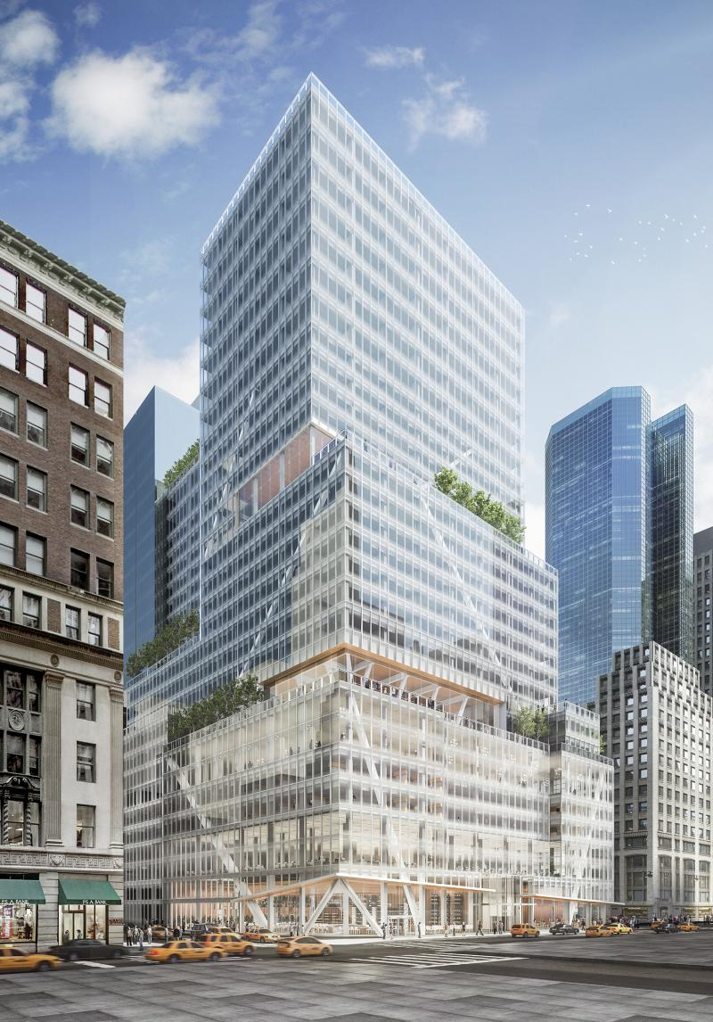 L Amp L S 32 Story Redevelopment Of 390 Madison Avenue Tops