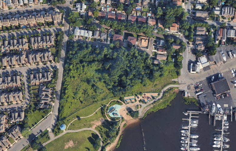 60, 70, and 80 Tennyson Drive Satellite View
