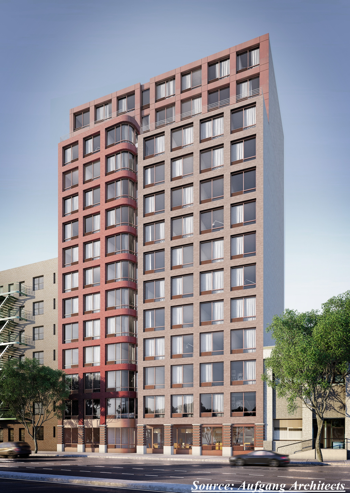 Renderings Revealed For 702 Grand Concourse South Bronx