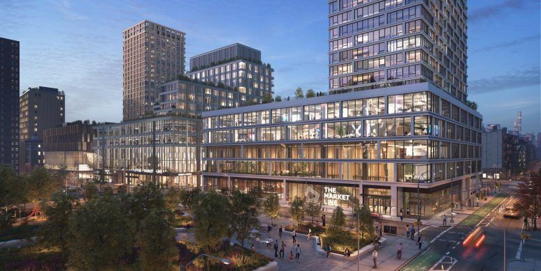 Essex Crossing Office Space Rendering
