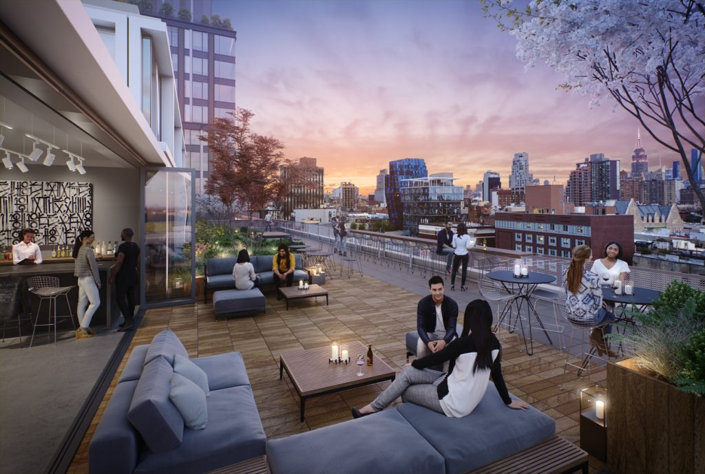 Essex Crossing Rendering Terrace