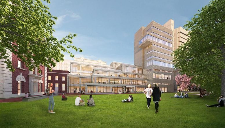 The Milstein Center Rendering
