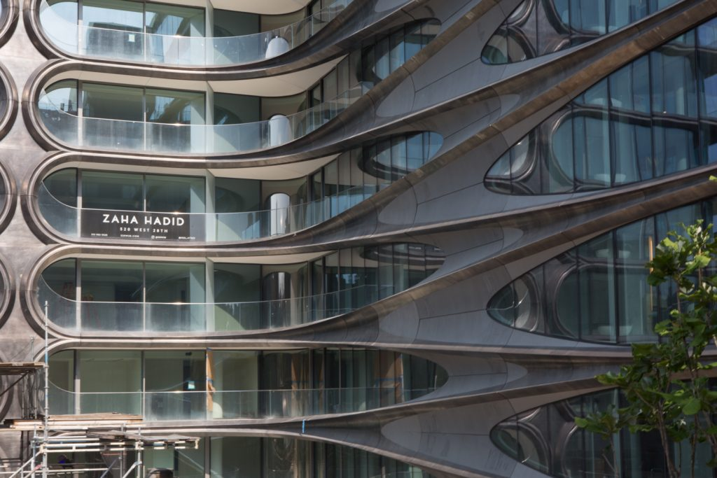 Zaha Hadid S 520 West 28th Street Nears Completion West