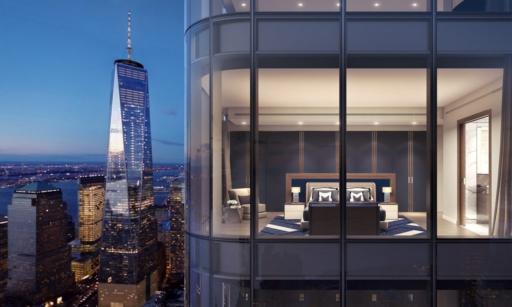125 Greenwich Street, Rendering by March