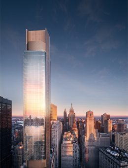 125 Greenwich Street - Rendering by March