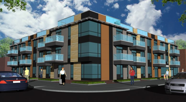 76-28 Parsons Boulevard, rendering by Tan Architects