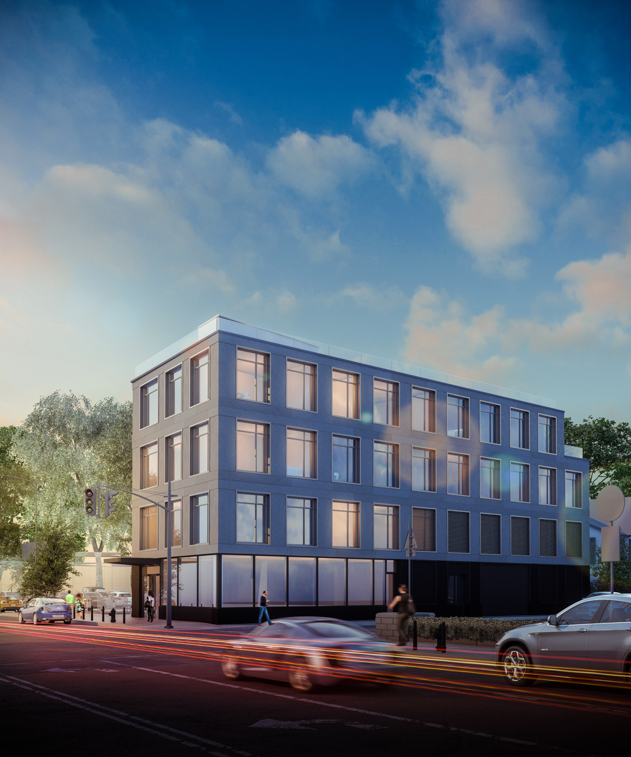 136-21 Hillside Avenue, rendering by Issac & Stern PC